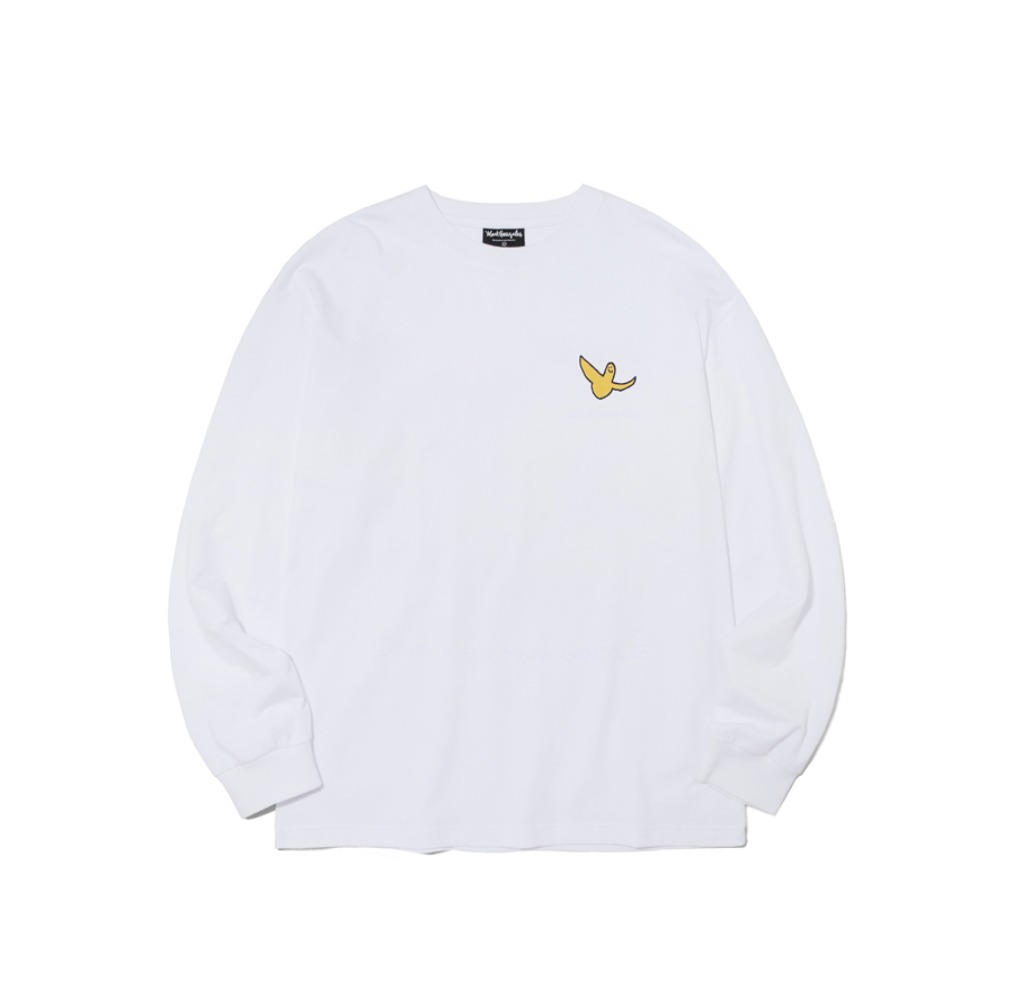 M/G SMALL ANGEL LONG SLEEVE WHITE